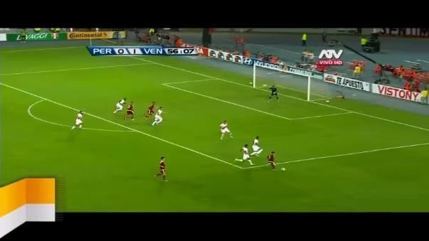 Venezuela encontró el 2-0 con el juvenil Mikel Villanueva.
