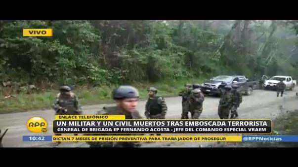 Atentado terrorista deja varios fallecidos en Junín