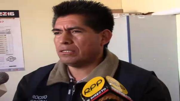 El jefe de la ODPE Huancayo, Vidal Montes Mata, también confirmó la emboscada de militares.