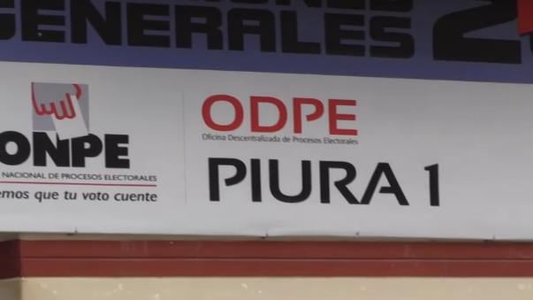 La jefa de la Oficina Descentralizada de Procesos Electorales ODPE de Piura, Magdalena Castro declara para RPP noticias.