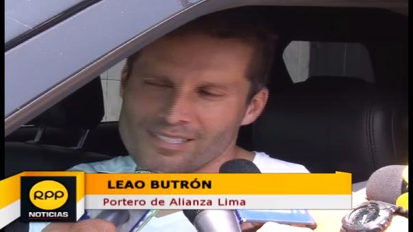Leao Butrón habló tras el Clásico suspendido en Matute.