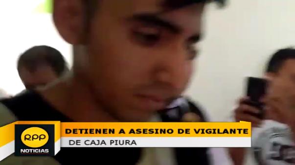 Loander Samir Martínez Ángeles de 24 años de edad fue detenido luego de efectuar su voto en la ciudad de Trujillo.