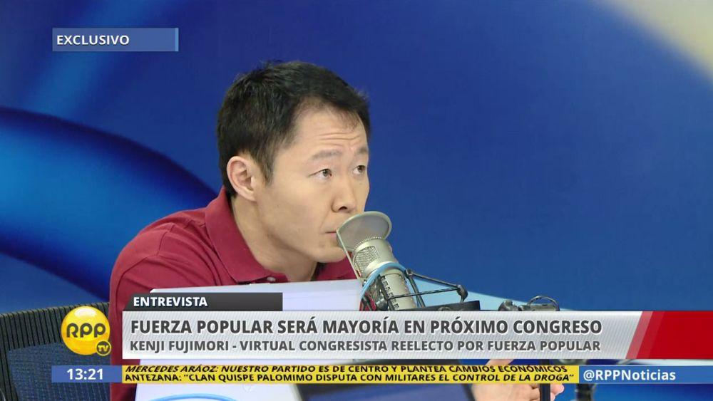 Kenji Fujimori es el virtual congresista más votado.
