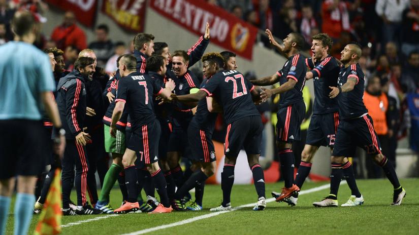 Bayern Munich logró su pase a las semifinales de la Champions.