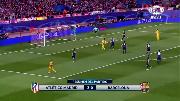Atlético de Madrid vs. Barcelona