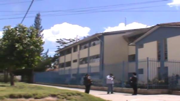 A pesar de los esfuerzos realizados por profesores y alumnos, Diego Flores Álvarez llegó cadaver al Hospital Regional.