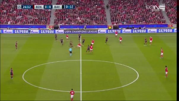 Benfica - Bayern Munich