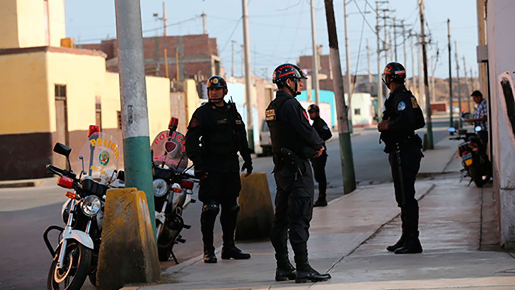 El Callao pide más efectivos policiales.