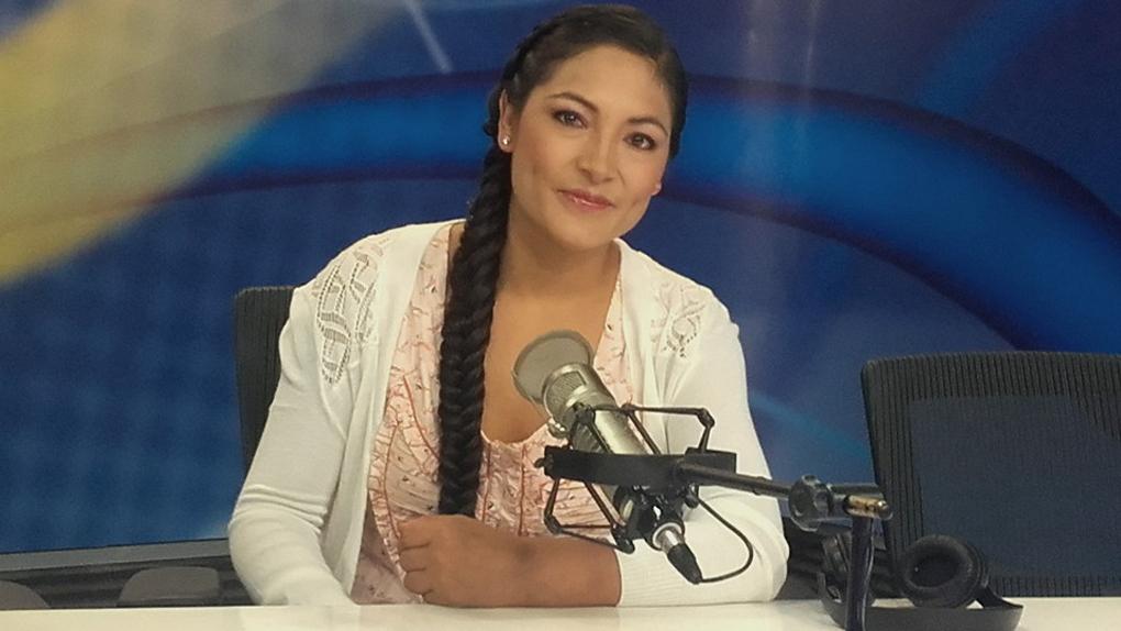 Una vez más, Magaly Solier dedica uno de sus espectáculos a la mujer andina.