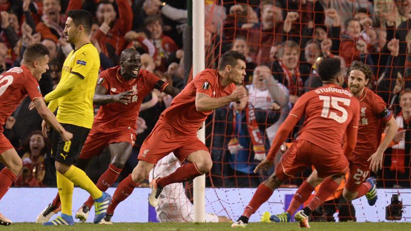 Liverpool revivió en el momento oportuno en la Europa League.