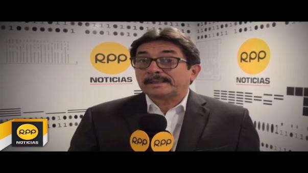 Cornejo sostiene que tras renuncia de dirigentes se pasará a formar un nuevo congreso que cambiará los estatutos apristas.