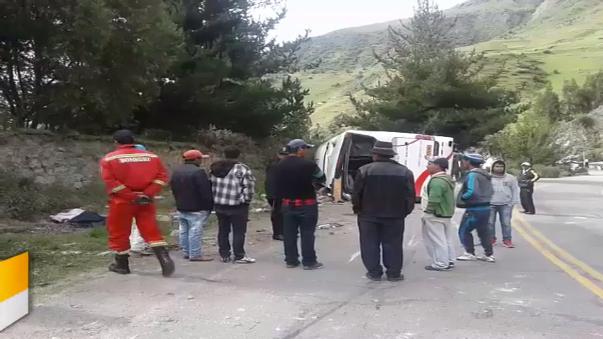 Accidente en Ayacucho.
