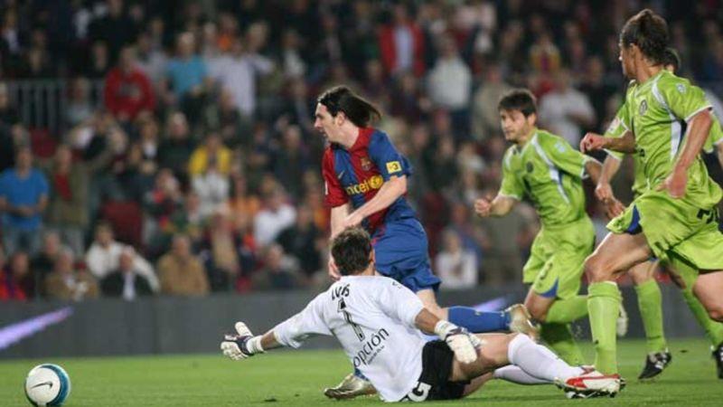 Revive aquí el golazo de Lionel Messi.