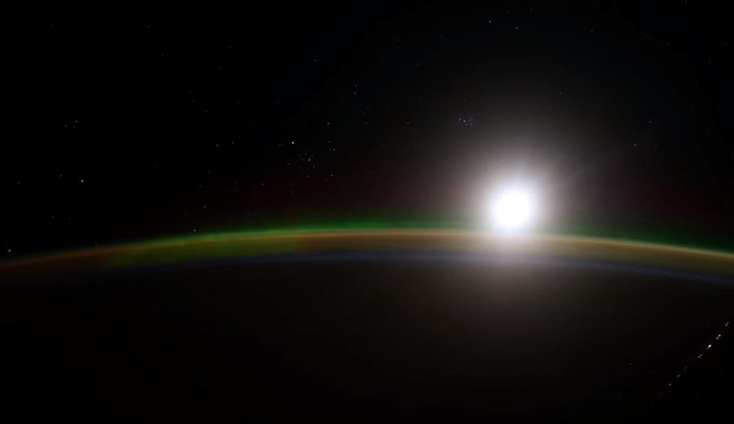 NASA registró la Aurora Boreal