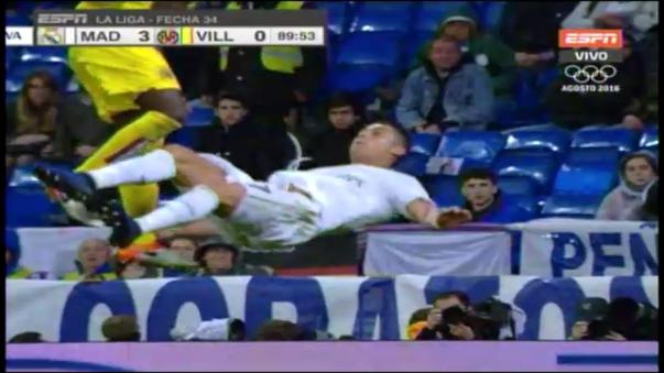Cristiano Ronaldo y su lesión.