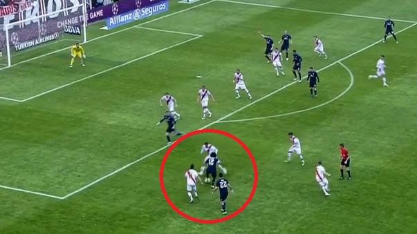 La jugada de Marcelo con el Real Madrid