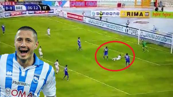 Gianluca Lapadula está en racha goleadora.