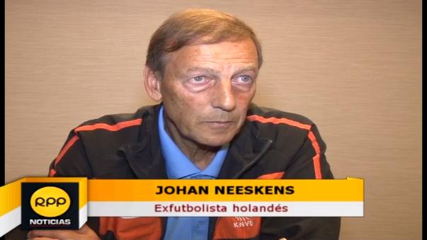 Johan Neeskens defendió la camiseta del Barcelona entre los años 1974 y 1979