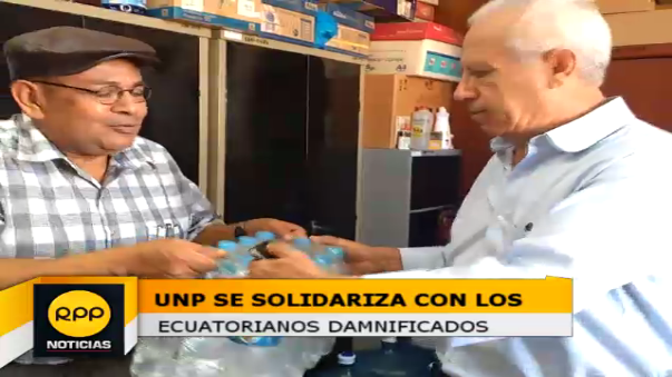 Solidaridad con el Ecuador