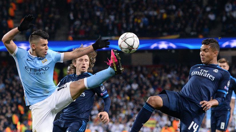 Real Madrid igualó de visita en Champions League.