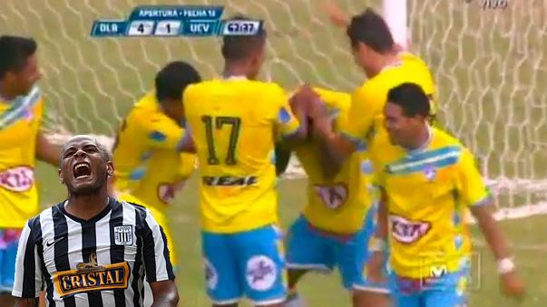 Wilmer Aguirre falló un gol solo.
