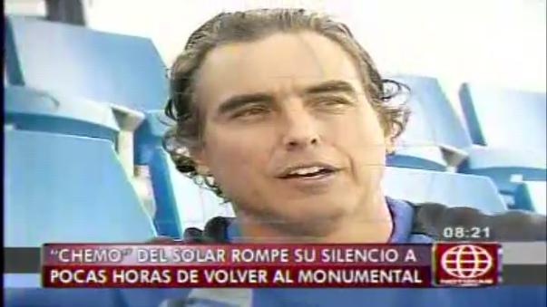 'Chemo' del Solar se pronunció sobre la Selección Peruana.