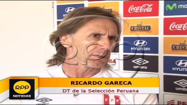 Declaraciones exclusivas de Ricardo Gareca a RPP.