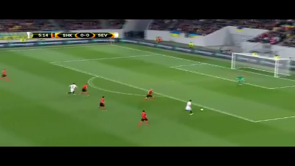 Resumen del Shakhtar Donetsk 2-2 Sevilla.