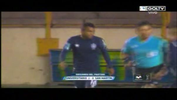 Universitario de Deportes venció 2-0 con tantos de Juan Diego Gutiérrez.