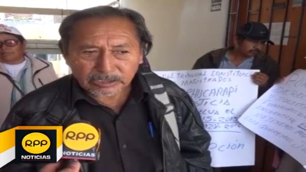 Trabajadores de Chucarapi piden celeridad a resolución de demandas.