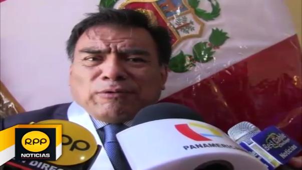 Congresista Javier Velásquez Quesquén.