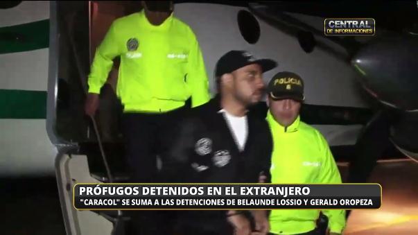 Prófugos detenidos en el extranjero