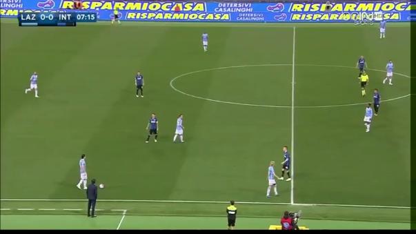 Inter de Milán fue muy irregular en la Serie A.