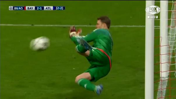 Manuel Neuer atajó un penal a Fernando Torres