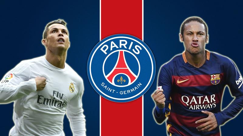 Cristiano Ronaldo y Neymar son tentados por los millones del PSG.