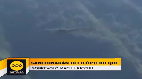 De acuerdo a un informe oficial se sabe que una nave del Ejército Peruano sobrevoló el espacio aéreo de Machu Picchu el pasado 3 de mayo, en el Cusco. Ministerio de Cultura inicia proceso administrativo sancionador.