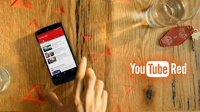 El servicio de YouTube Red aún no está disponible en Perú.