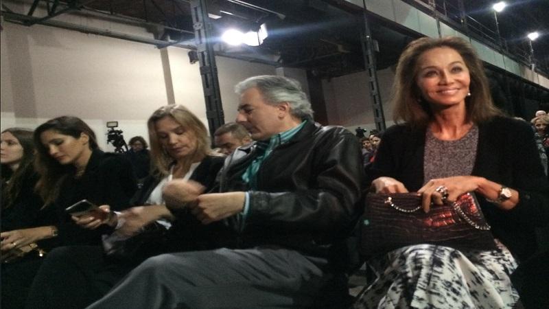 Estuvieron juntos durante presentación de Mario Vargas Llosa
