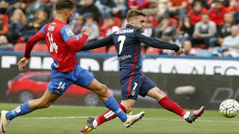Levante 2-1 Atlético de Madrid