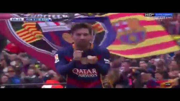 Messi, Luis Suárez (2), Rafinha y Neymar anotaron este domingo en el Camp Nou.