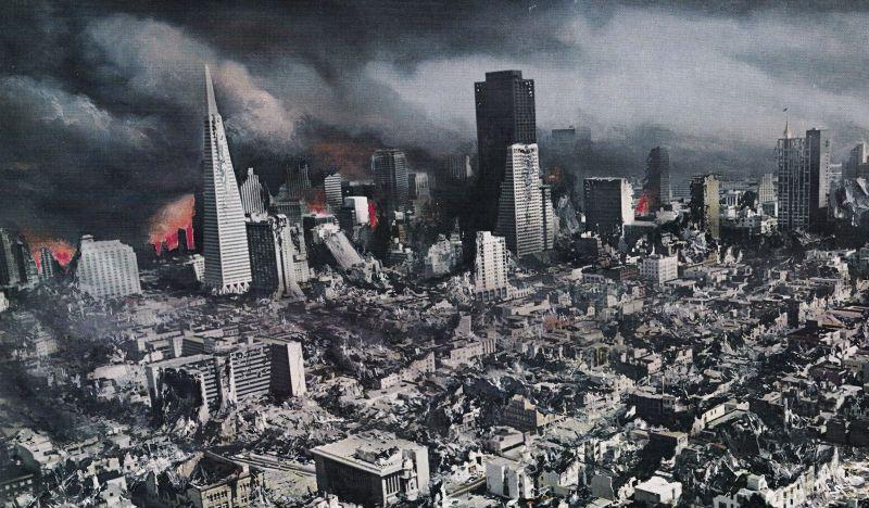 Resultado de imagen para terremoto la falla de san andres