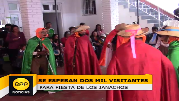 Los españoles son representados de manera burlesca en la danza de