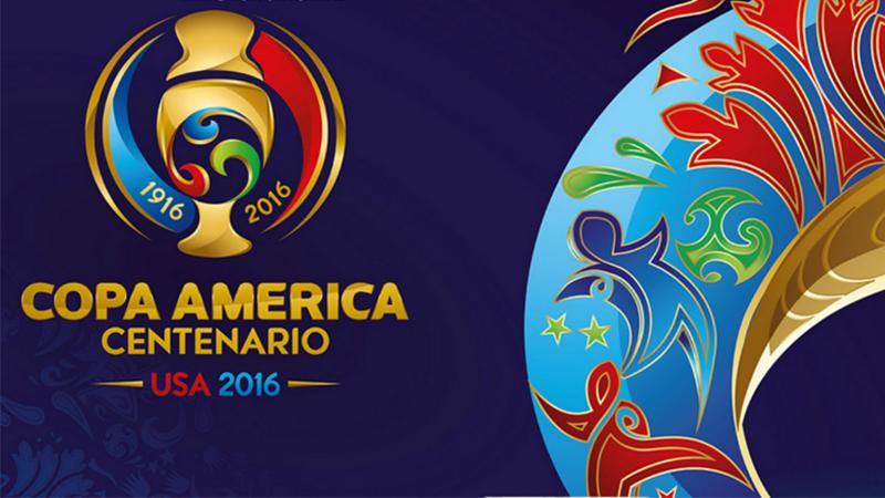 La Copa América Centenario USA 2016 conmemora los 100 años de la competencia.
