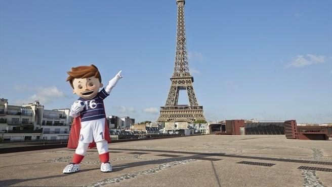 La mascota de la Eurocopa 2016 se llamará