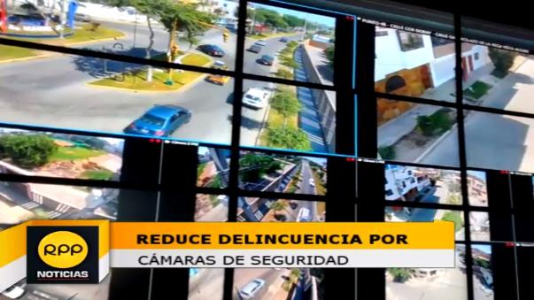 Un total de 210 modernas cámaras de videvigilancia han sido instaladas en diversos sectores del distrito Víctor Larco.