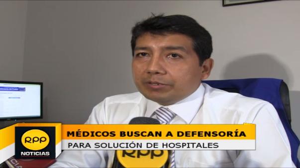 Médicos esperan que Defensoría del Pueblo pueda concertar reunión para buscar solución a deplorable situación de hospitales en La Libertad.