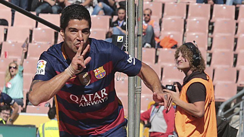 Aquí revisa los 40 goles de Luis Suárez con la camiseta del Barcelona en la temporada 2015/16.
