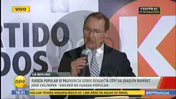 Chlimper hizo defensa cerrada de Joaquín Ramírez en caso DEA.