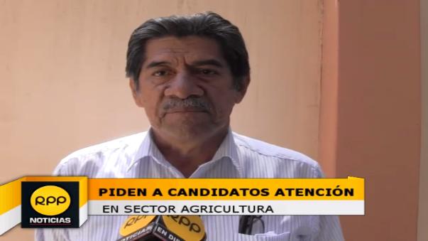 Director de Agricultura evidenció que este sector debe merecer también el pronunciamiento de los candidatos para que no siga la postergación del agro.