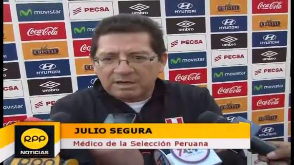 Julio Segura (médico de la Selección Peruana).